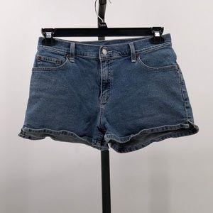 Levi's jean shorts denim junior sz 11